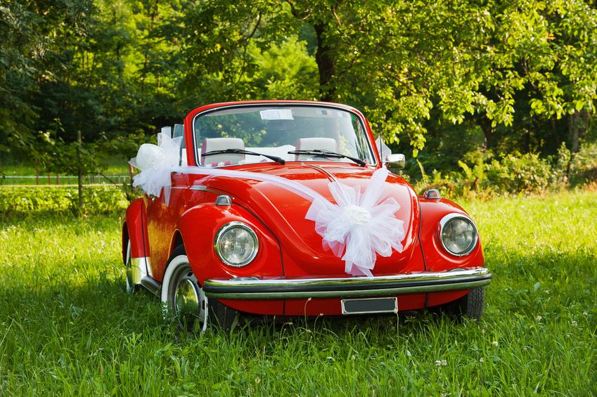 Бант на свадебную машину своими руками