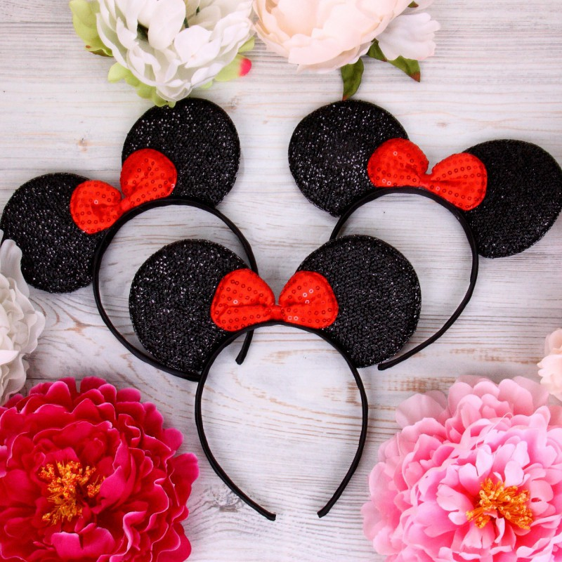 "Ушки Микки Маус для девичника ""Minnie Mouse"""