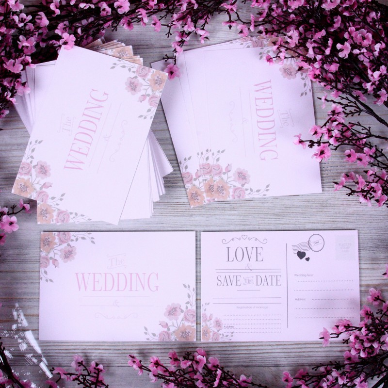 "Wedding invitation ""Love"""