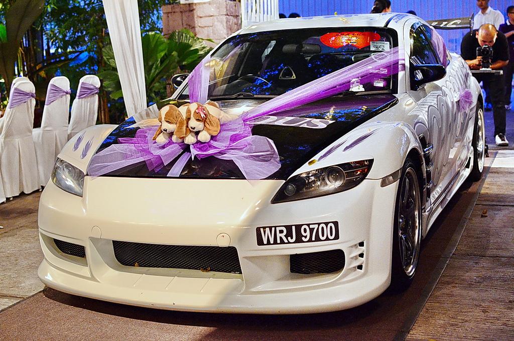 предложил свадебные украшения на машину своими руками фото ряд цены новые