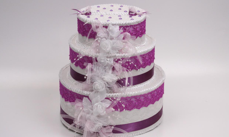 Свадебный сундучок в виде торта